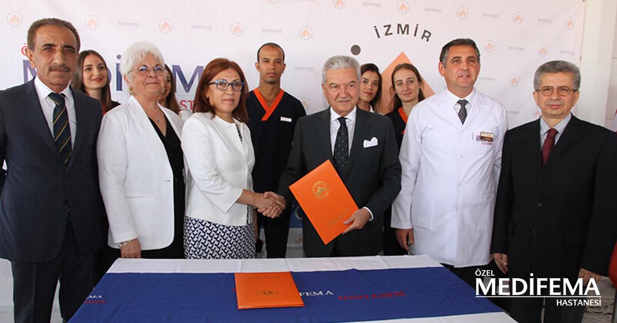 İzmir Ekonomi Üniversitesi ve Medifema Hastanesi İşbirliği Protokolü İmzaladı